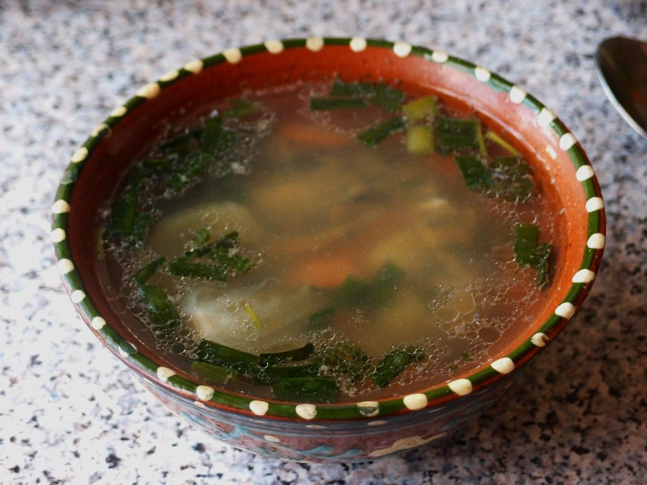 Рецепт супа с рыбными консервами пошаговый