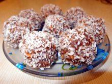 Пирожное «Картошка» с кокосовой стружкой