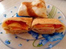 Конвертики с сыром и имбирем