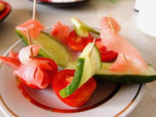 Овощные кораблики