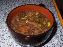 Овощной суп в горшочках