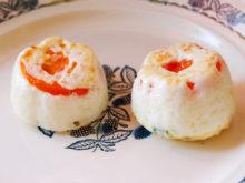Яйца с помидорами, запеченные в духовке