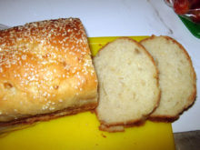 Горчично-луковый хлеб