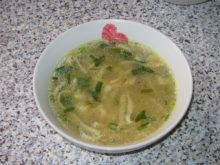 Суп-лапша с карри