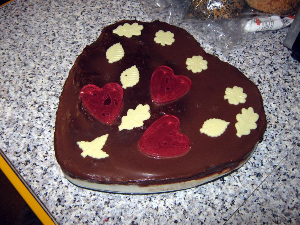 Торт «Признание в любви»