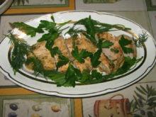 Куриное филе с лаймом и имбирем