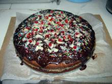 Торт «Вечерние огни»