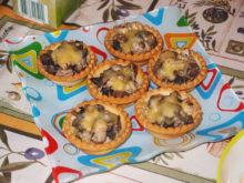 Тарталетки с жульеном по упрощенному рецепту