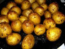 Картофель в пряном масле в духовке (как на костре)