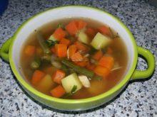 Овощной суп на пряном бульоне