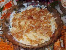 Салат с красной рыбой и яблоками