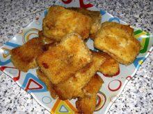 Полезные рыбные наггетсы в духовке