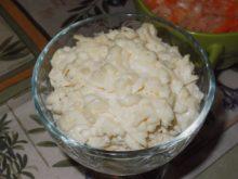 Плавленный сыр с чесноком