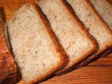 Кефирный пшенично-ржаной хлеб с овсяными отрубями