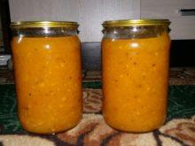 Абрикосовое повидло с апельсинами