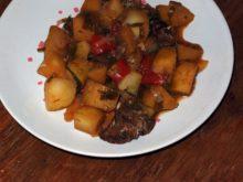 Картошка с рыжиками в мультиварке