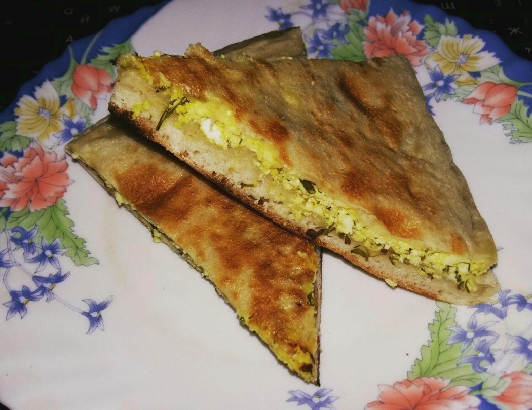 Лепешки а-ля осетинский пирог