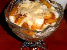 Десерт «Йогурт с яблоками»