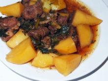 Картофель с бараниной