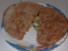 Хачапури на цельнозерновой муке с сыром сулугуни