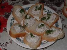 Бутерброды с домашним куриным паштетом