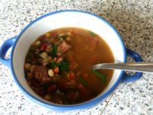 Мексиканский суп «Семь бобов»