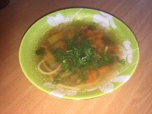 Суп с мексиканской овощной смесью