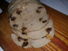 Домашняя колбаса с курагой и черносливом в ветчиннице