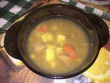 Суп с говядиной и чечевицей
