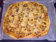 Пицца с мандаринами