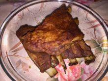 Свиные рёбрышки-гриль в горчично-томатном соусе