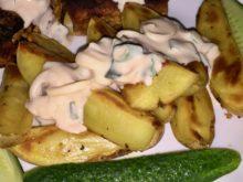 Картофель по-крестьянски в йогурте