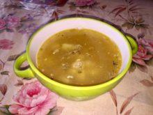 Суп с фасолью и рыбными консервами в мультиварке