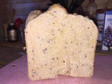 Хлеб с горчицей и семенами льна