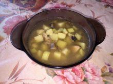 Грибной суп с кабачками в мультиварке