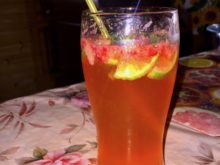 Клубничный безалкогольный мохито