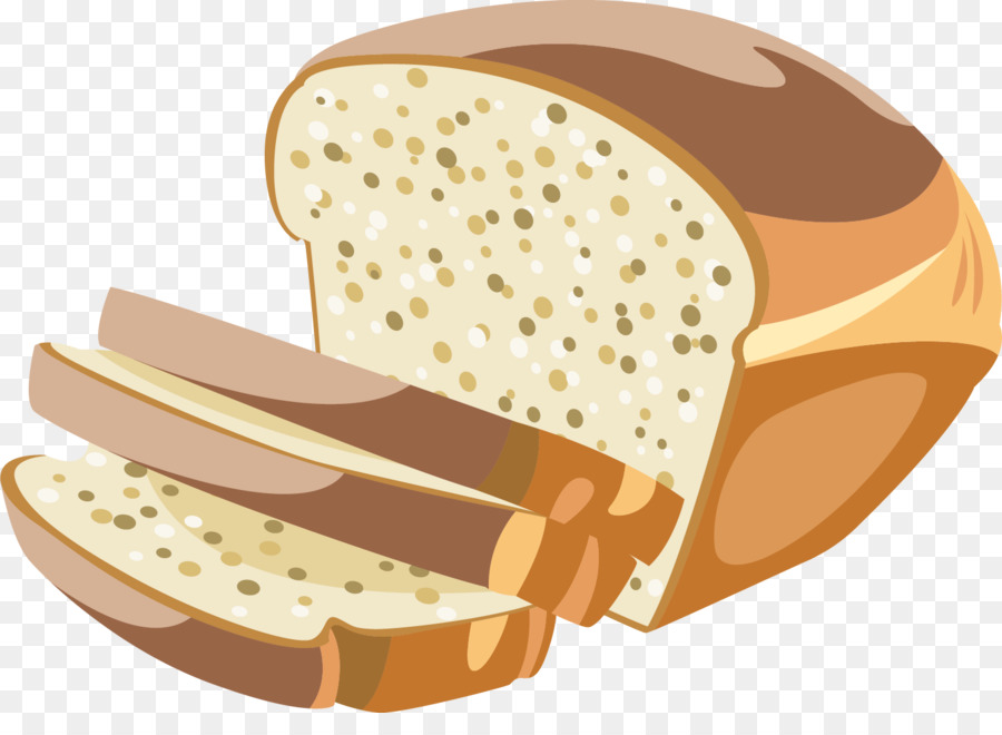 Хлеб с отрубями, кунжутом и семенами льна